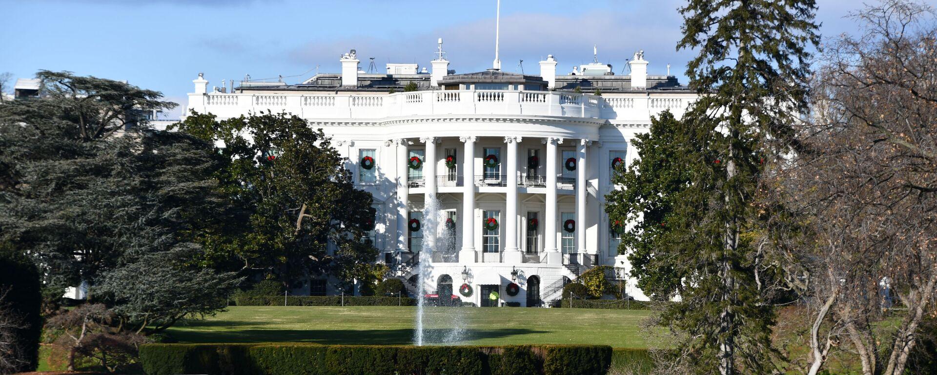 Biały Dom w Waszyngtonie - Sputnik Polska, 1920, 17.04.2021