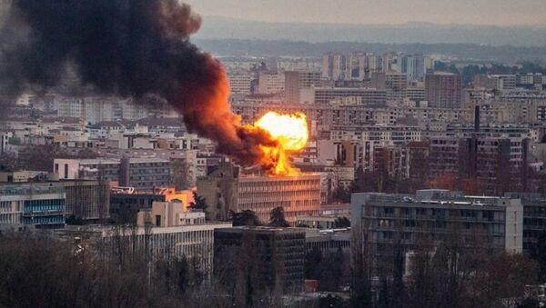 Wybuch w bibliotece Uniwersytetu w Lyonie - Sputnik Polska