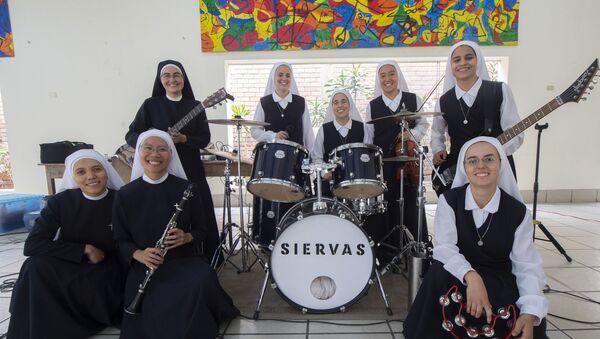 Popularna grupa muzyczna Siervas - Sputnik Polska