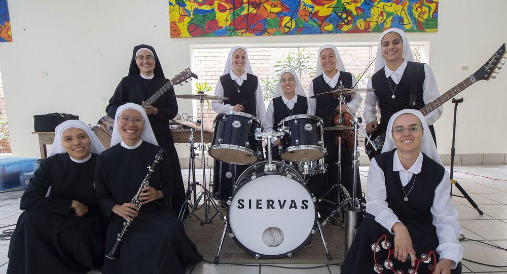 Popularna grupa muzyczna Siervas