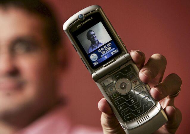 Motorola Razr. Zdjęcie archiwalne