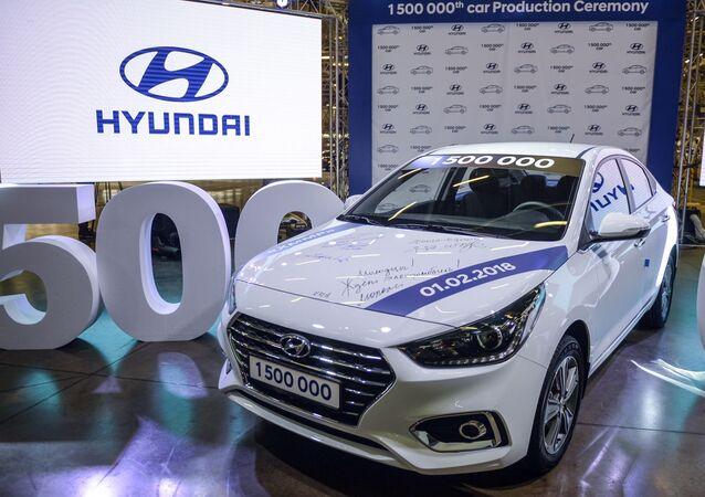 Samochód firmy Hyunday Motor
