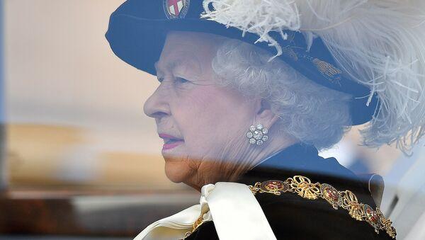 Królowa Wielkiej Brytanii Elżbieta II - Sputnik Polska