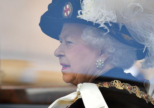 Królowa Wielkiej Brytanii Elżbieta II