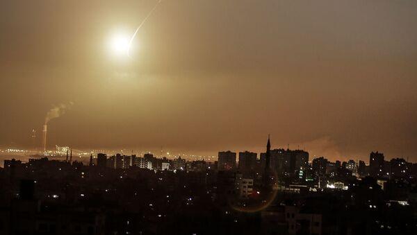 System obrony powietrznej Izraela Żelazna Kopuła - Sputnik Polska