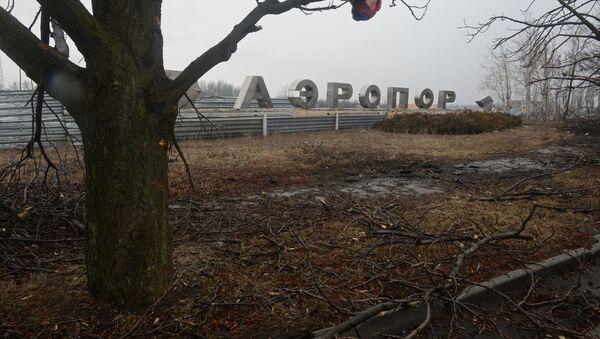 Lotnisko w Doniecku - Sputnik Polska