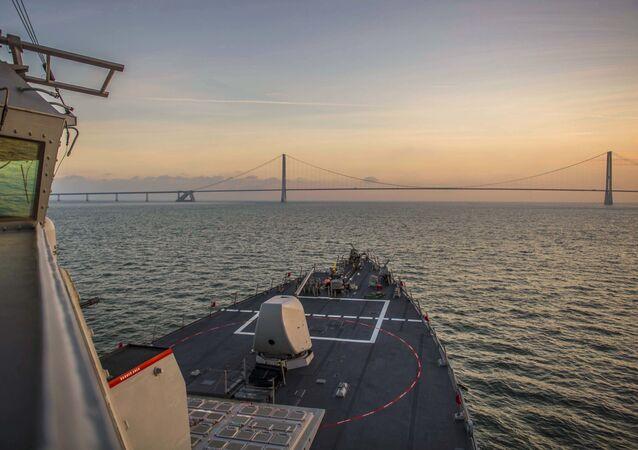 Niszczyciel Marynarki Wojennej USA USS Porter
