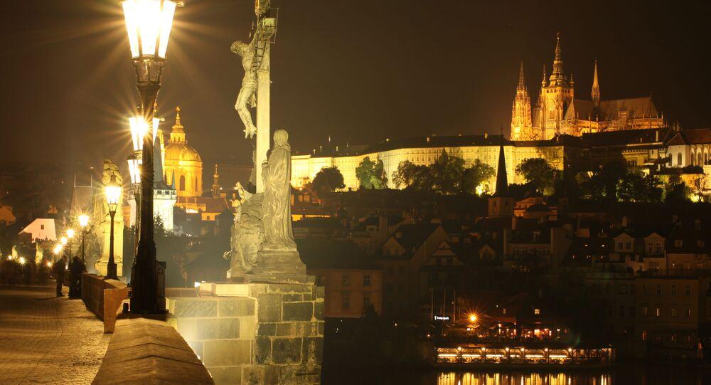 Praga nocą.