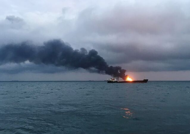 Pożar statku