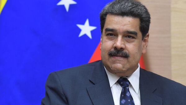 Prezydent Wenezueli Nicolas Maduro. Zdjęcie archiwalne - Sputnik Polska