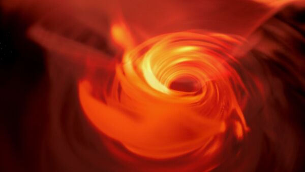 Czarna dziura Sgr A * w centrum Drogi Mlecznej wizualizowana za pomocą wirtualnej rzeczywistości - Sputnik Polska