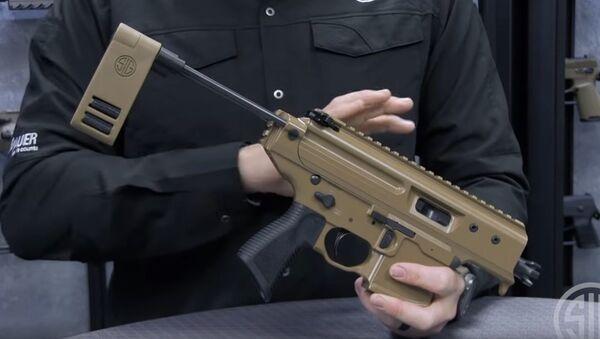 Kompaktowy mini pistolet maszynowy MPX Copperhead - Sputnik Polska