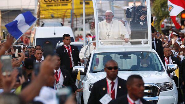 Papież Franciszek w Panamie - Sputnik Polska