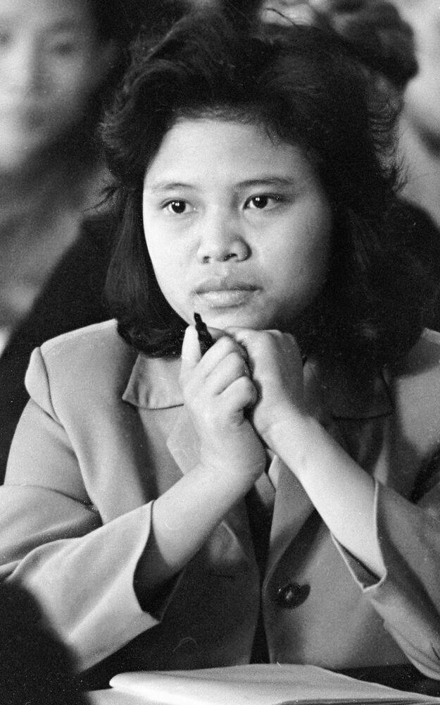 Studentka z Wietnamu