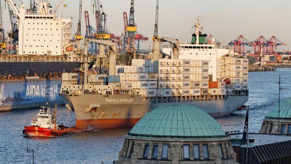 Port w Hamburgu - Sputnik Polska