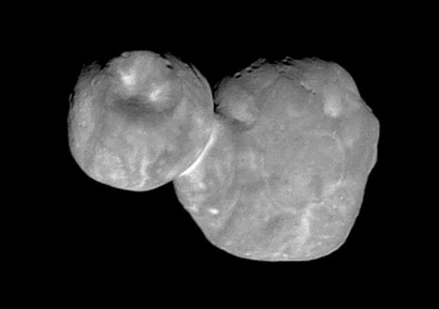 Najbardziej szczegółowe zdjęcie Ultima Thule wykonane przez New Horizons