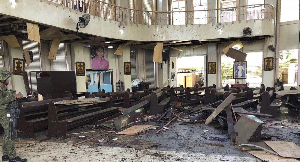 Zamach na katolicką katedrę na Filipinach