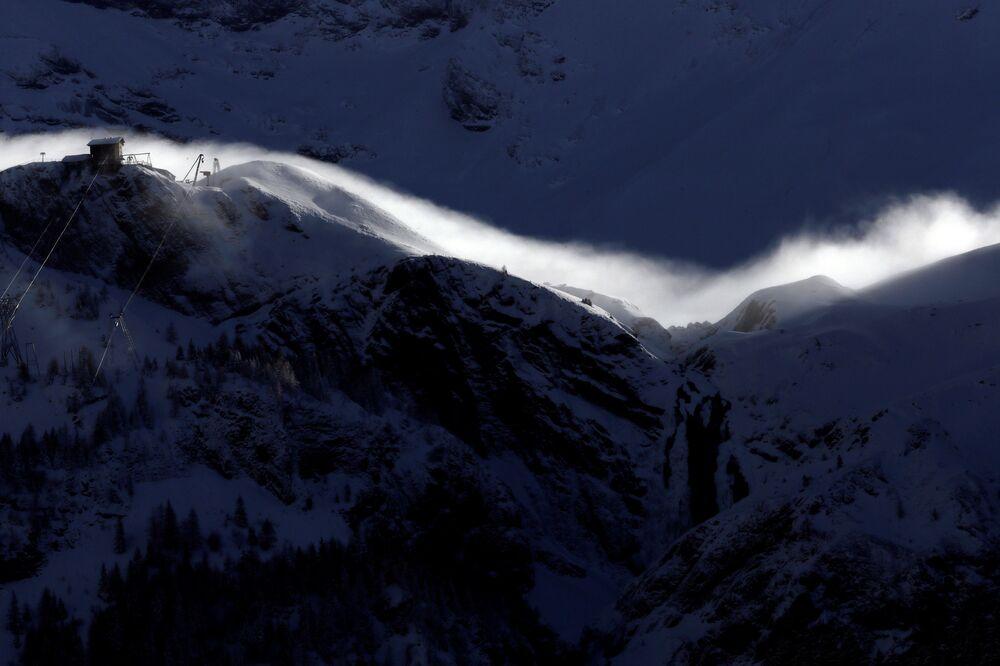 Szwajcarska miejscowość Adelboden
