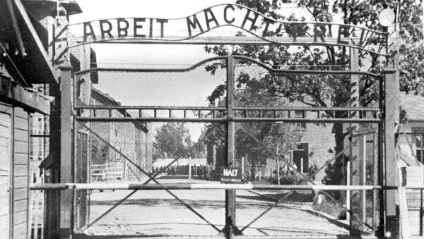 Auschwitz I, brama główna - Sputnik Polska