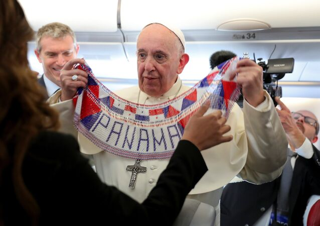 Papież Fransiszek w Panamie podczas Światowych Dni Młodzieży - 2019