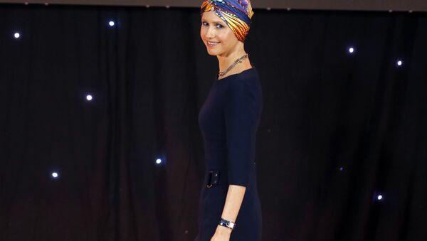 Żona prezydenta Syrii Baszara Asada Asma - Sputnik Polska