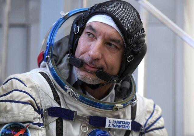 Członek załogi rezerwowej MSK-58/59, astronauta ESA Luca Parmitano