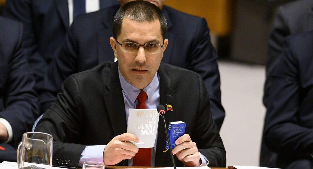 Minister spraw zagranicznych Wenezueli Jorge Arreas