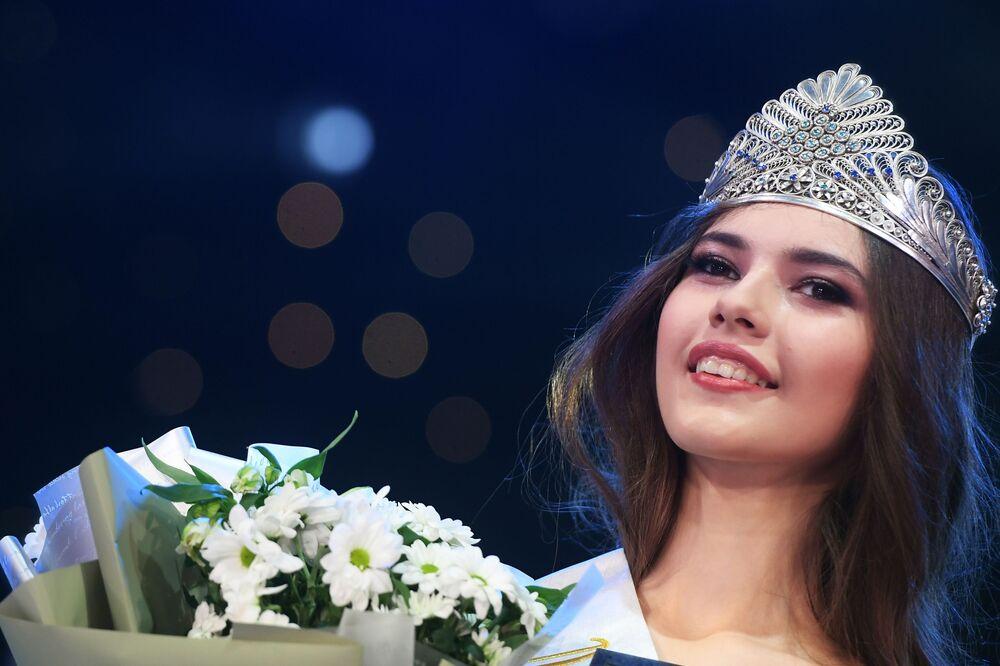 Zwyciężczyni konkursu piękności Miss Tatarstanu 2019