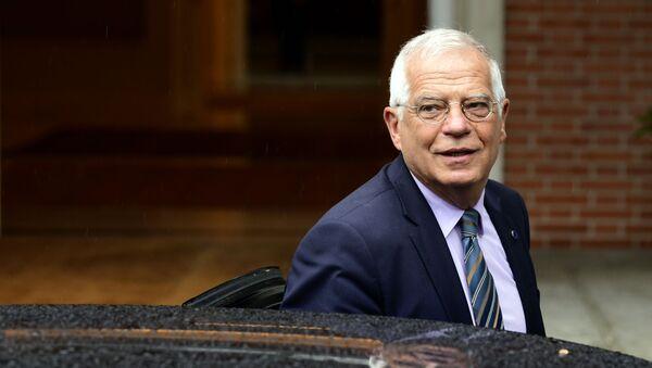 Minister spraw zagranicznych Hiszpanii Josep Borrell - Sputnik Polska