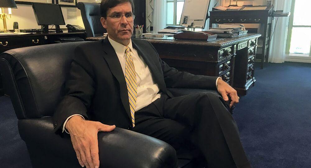 Sekretarz Armii USA Mark Esper