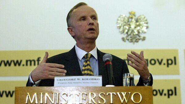 Бывший польский премьер-министр Гжегож Витольд Колодко - Sputnik Polska