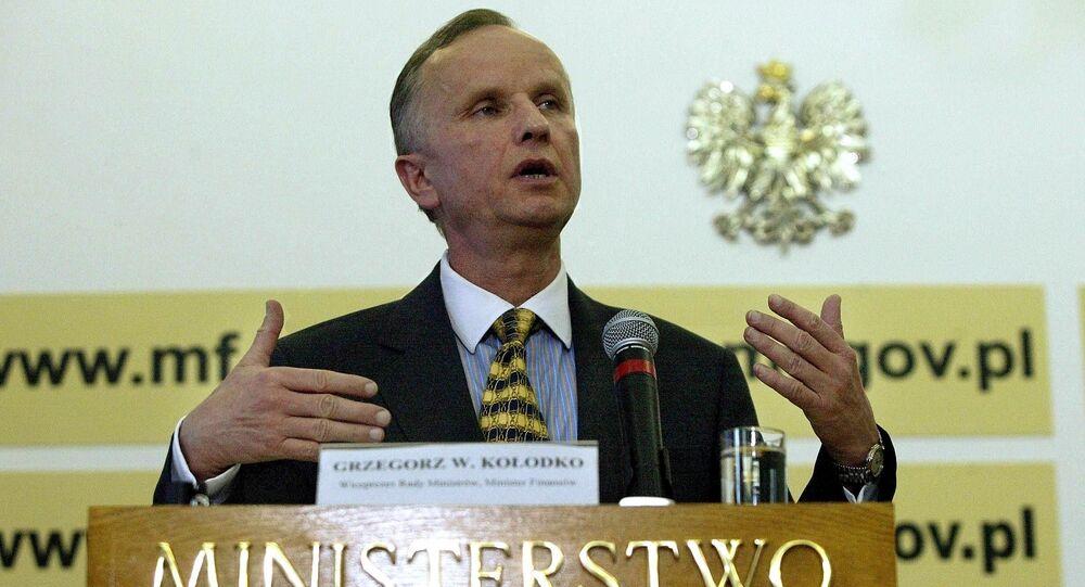 Grzegorz Kołodko, doktor nauk ekonomicznych, były wicepremierem i minister finansów RP, profesor Akademii Leona Koźmińskiego w Warszawie