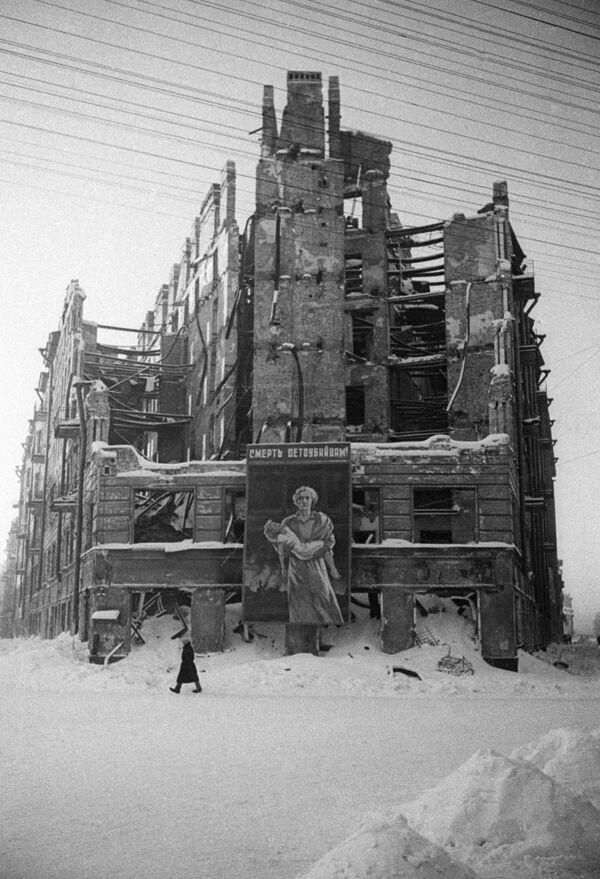 Blokada Leningradu - Sputnik Polska
