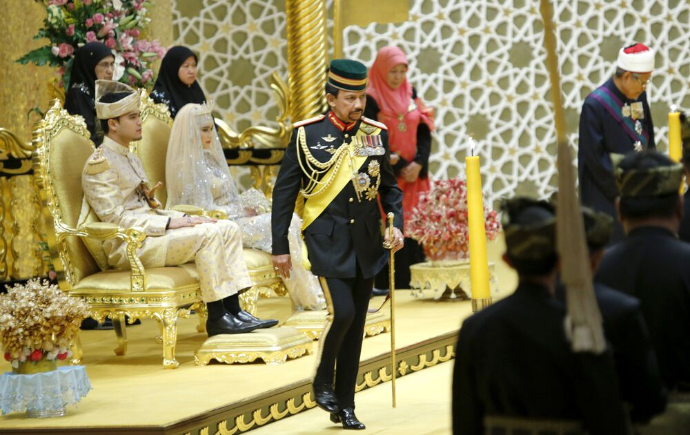 Hassanal Bolkiah sułtan Brunei
