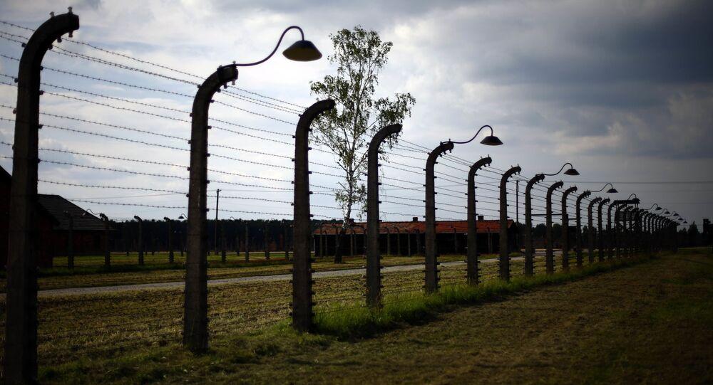 Były nazistowski obóz koncentracyjny Auschwitz-Birkenau