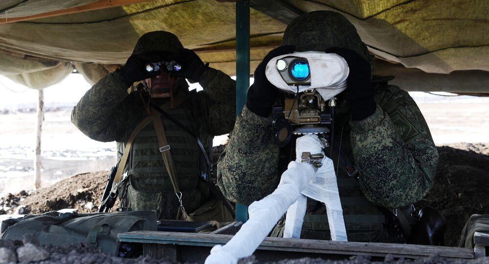 Szkolenia rosyjskich wojsk