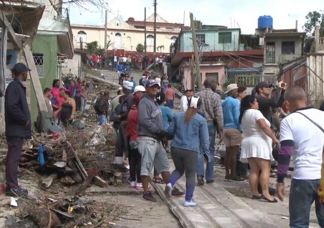 Tornado na Kubie