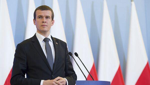 Minister sportu i turystyki Polski Witold Bańka - Sputnik Polska
