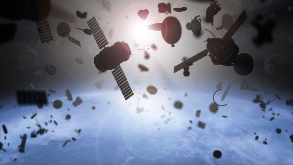 Kosmiczne śmieci - Sputnik Polska
