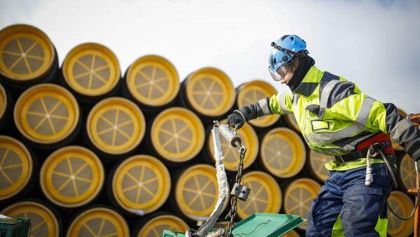 Projekt Nord Stream 2 - Sputnik Polska