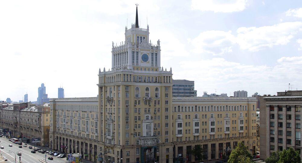 Hotel Pekin w Moskwie