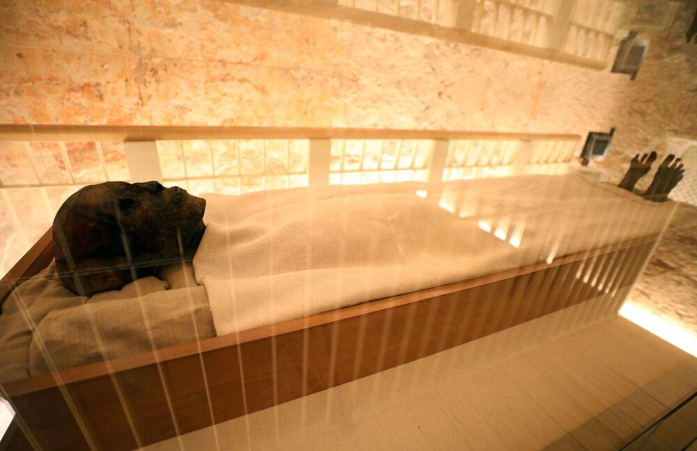 Mumia Tutanchamona