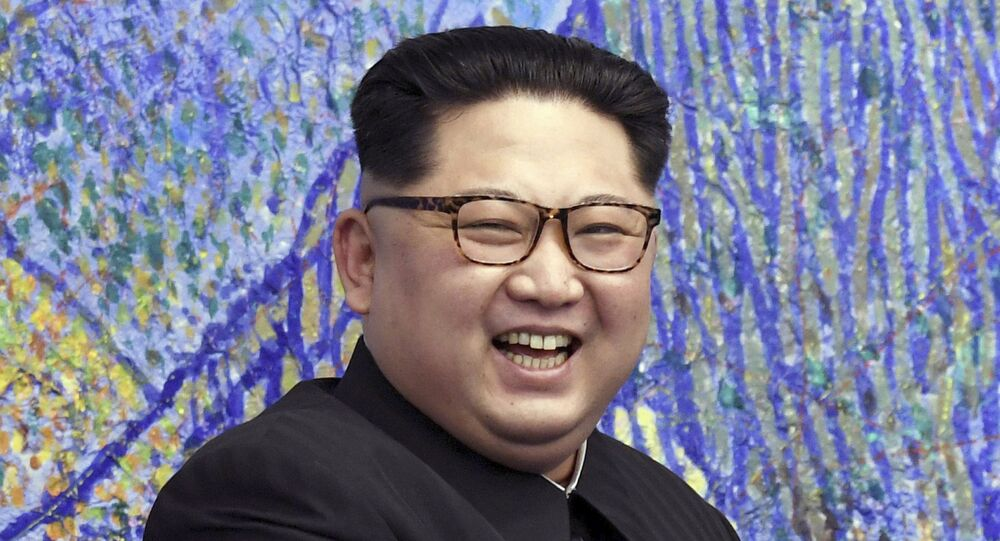 Przywódca Korei Północnej Kim Dzong Un