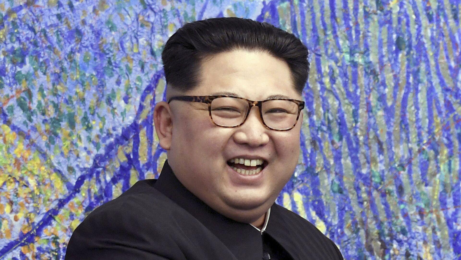 Przywódca Korei Północnej Kim Dzong Un - Sputnik Polska, 1920, 14.03.2021