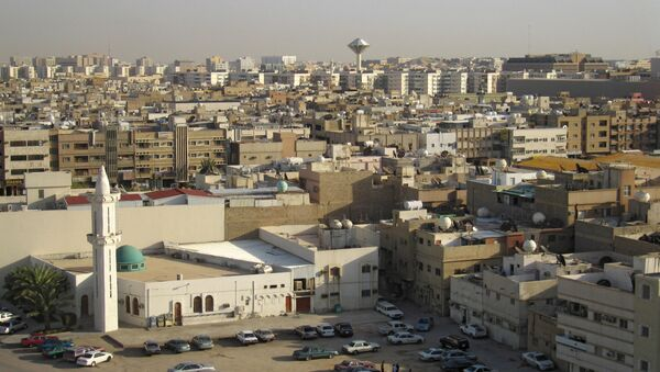 Widok na miasto Rijad - stolicę Arabii Saudyjskiej - Sputnik Polska