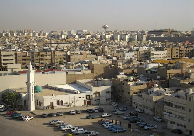 Widok na miasto Rijad - stolicę Arabii Saudyjskiej