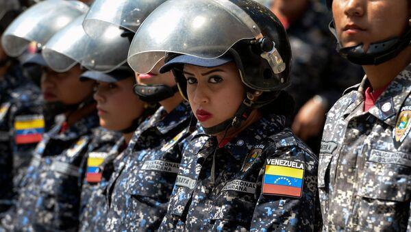 Wenezuelska policja - Sputnik Polska