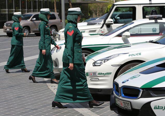 Policjantki w Dubaju