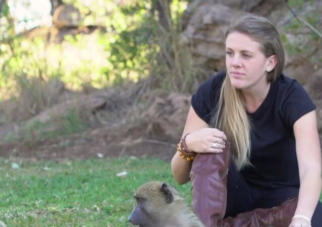 Mama dla dzikich zwierząt