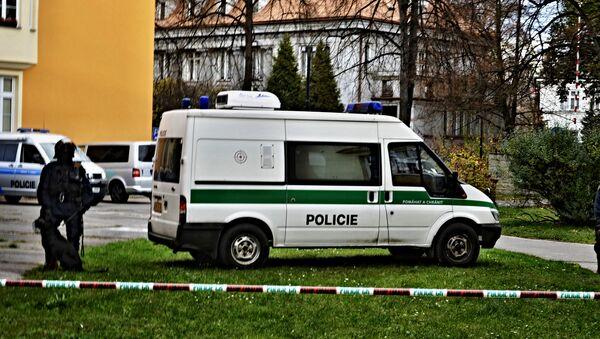 Czeska policja w Ostrawie - Sputnik Polska